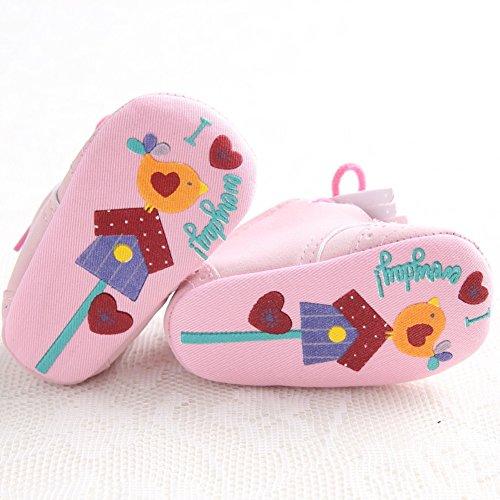 Pink Fringed 0 Online Black Etrack Sneaker Burnish zum 6 Monate Jungen Turnschuhe Schuhe Baby schwarz Schn眉ren Gr枚脽e a4gZn47