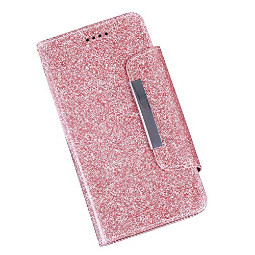 CiCiCat UMIDIGI One Max Hülle Handyhüllen, Flip Back Cover Case Schutz Hülle Tasche Schutzhülle Für UMIDIGI One Max Smartphone. (6.3'', Rosa)