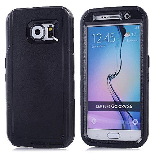 Schützen Sie Ihr Mobiltelefon Für Samsung Galaxy S6 / G920 3 in 1 Hybrid Silicon & PlasticProtective Fall für Samsung Handy ( SKU : S-SCS-5522B )