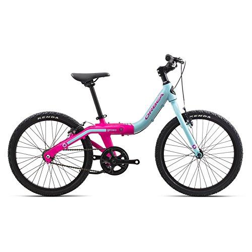 Gang-rad 1 (Orbea Grow 2 Kinder Fahrrad 20 Zoll 1 Gang Rad Aluminium mitwachsend einstellbar, I004, Farbe blau)
