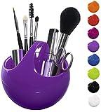 Spirella Kosmetikorganizer Bowl Aufbewahrungsbox für Make Up und Schmuck 10,5x9,5cm Lila