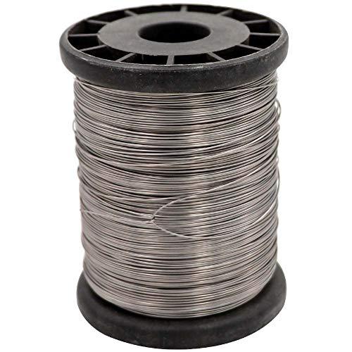Farm & Ranch 0,5 mm 500 g Fil d'acier Inoxydable pour Hive Cadres Apiculture et Tige pour Artisanale Récoltée Apiculture Fixer l'équipement de Ruchers des Abeilles