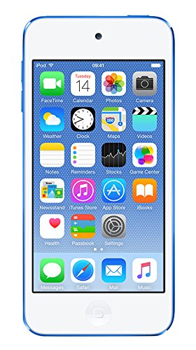 "Apple iPod touch - Reproductor MP4 de 4"" (32 GB) azul"
