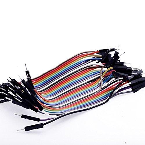 10cm-40pcs-dupont-male-male-jumper-wire-ribbon-cable-pi-pic-breadboard