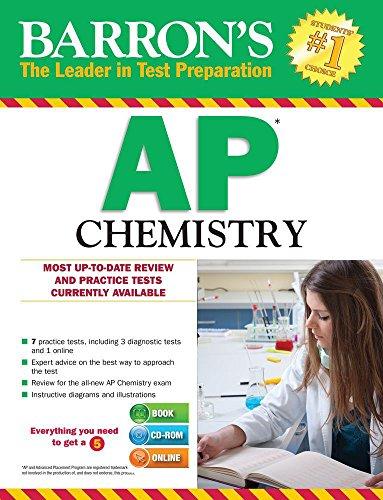 Barron's AP Chemistry with CD-ROM (Barron's AP Chemistry (W/CD)) (Chemie Test Ap)