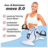 Sport-Tec Arm- und Beintrainer Armtrainer Home Fitness Fitrnesstrainer motorgestützt mit Display