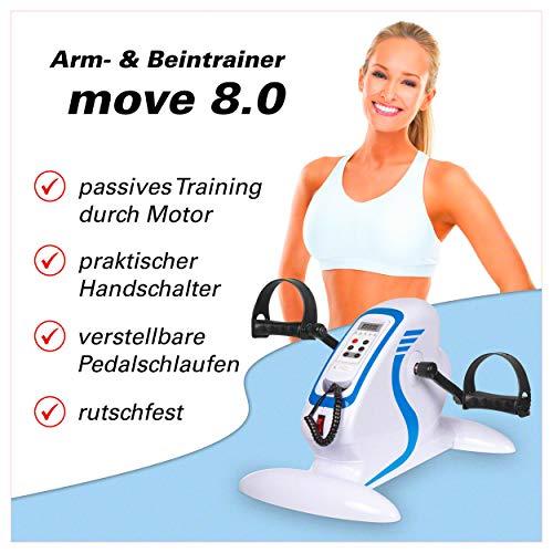 Sport-Tec Arm- und BeintrainerArmtrainer Home Fitness Fitrnesstrainer motorgestützt mit Display