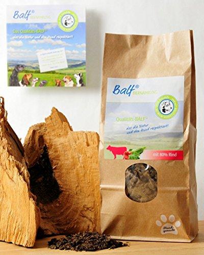 Meißmer BALF® RIND mit Obst/Gemüse Alleinfuttermittel 1kg