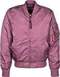 Alpha Industries Damen Jacken / Bomberjacke Ma 1 VF 59 pink S