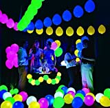 Gifts Online Set of 25 LED Balloons for Party Festival Diwali Christmas New Years Celebrations