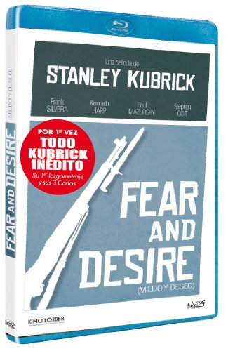Preisvergleich Produktbild Fear And Desire (Miedo Y Deseo) (1953) (Bonus: Flying Padre + Day Of The Fight + The Seafarers) [Blu-ray] [Spanien Import]