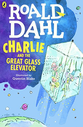 Book cover for Charlie and the Great Glass Elevator