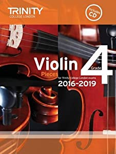 Violin Exam Pieces Grade 4 2016-2019 (Score, Part & CD)
