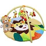 JYSPORT Tapis d'éveil éducatif et Gymini Bébé jouets (Big lion)