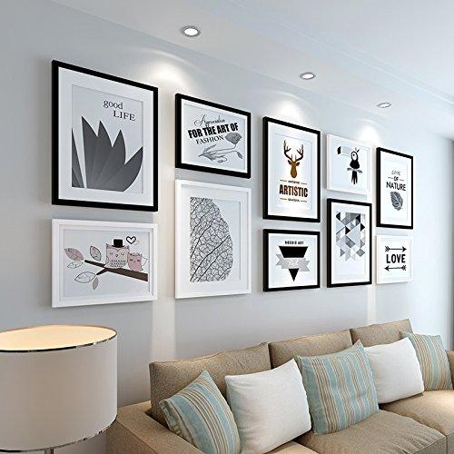 Preisvergleich Produktbild Im amerikanischen Stil Holz Wand Bilder10BoxI, Abschn A