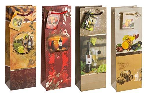tsi-85284-bolsas-de-regalo-para-botellas-paquete-de-12-unidades-con-diseno-de-vid-6-modelos-diferent