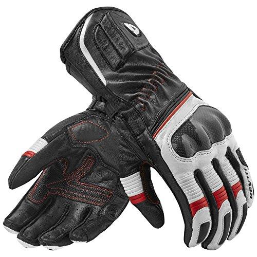 Xena Sand (REVIT XENA 2 Damen Leder Motorradhandschuhe Sport - schwarz weiss rot Größe XL)