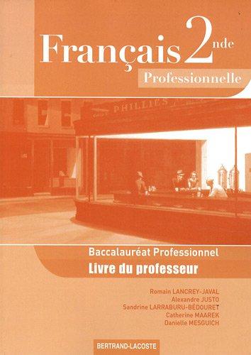 franais-2e-bac-pro-livre-du-professeur