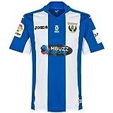 1ª Equipación CD Leganés 2016/2017 - Camiseta oficial Joma, Blanco/Azul, M