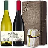 Le Grand Duc Wine and Truffles Twin Gift Box