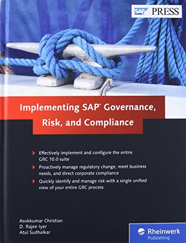 Implementing SAP Governance, Risk, and Compliance (SAP PRESS: englisch)