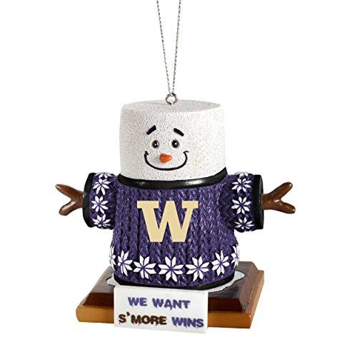 Forever Collectibles NCAA Washington Huskies Washington Smores Ornament