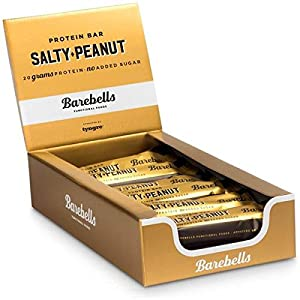 Barebells Protein Bar 55g x 12 (Salty Peanut) by Barebells