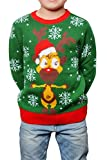 Grüner Ugly Christmas Sweater 98-152