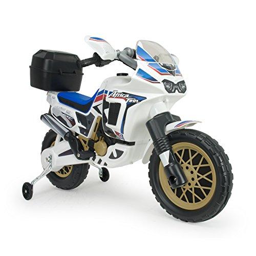 Injusa–Moto HONDA AFRICA TWIN 6V, colore: blu, 26x 31cm, 6820)