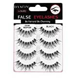 DYAFIN Faux Cils Naturel 3D Ladies Cils Aspect...