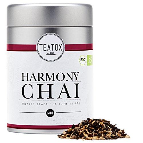 TEATOX Harmony Chai, Bio Schwarzer Tee mit Gewürzen