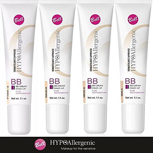 Bell hipoalergénico BB Crema Maquillaje Líquido