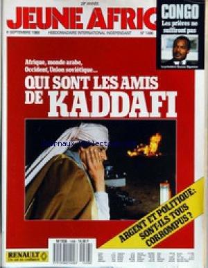 JEUNE AFRIQUE [No 1496] du 06/09/1989 - CONGO - LE...