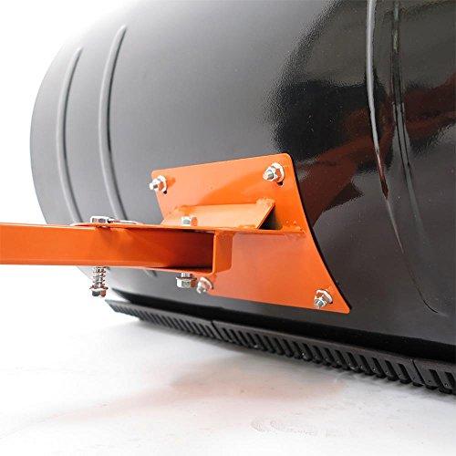 FUXTEC Schneeschaufel Schneeschieber mit Rädern Schneefräse - 6