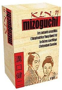 Coffret Mizoguchi, Vol.1 : Les Amants crucifiés / L'impératrice Yang Kwei Fei / Le Héros sacrilège / L'intendant Sansho [inclus le livret] - Coffret 5 DVD