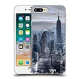 Officiel Haroulita New York 3 Places Étui Coque en Gel molle pour Apple iPhone 7 Plus / 8 Plus