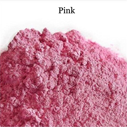 BEAUTY'S CASTLE 8 Colors Soap Colorant Do It Yourself Natural Mineral Mica Powder Soap Dye 30g (Pink)