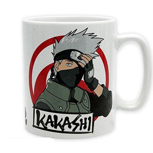 Naruto Shippuden - Keramik Tasse Riesentasse 460 ml - Naruto & Kakashi - Geschenkbox