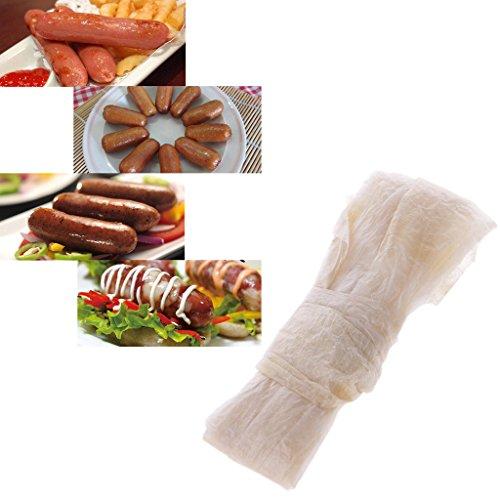 Preisvergleich Produktbild LDA GET Fresh getrocknete Schaf-Darm-Wursthülle-Mantel-Fleisch,  das Kochwerkzeug 28-30mm kocht