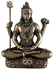 Collectible India 3.4-inch Cold Cast Bronze Lord Shiv Idol