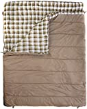 Vango  Accord Unisex Outdoor Double Sleeping Bag available in Nutmeg/Nutmeg Print - One Size
