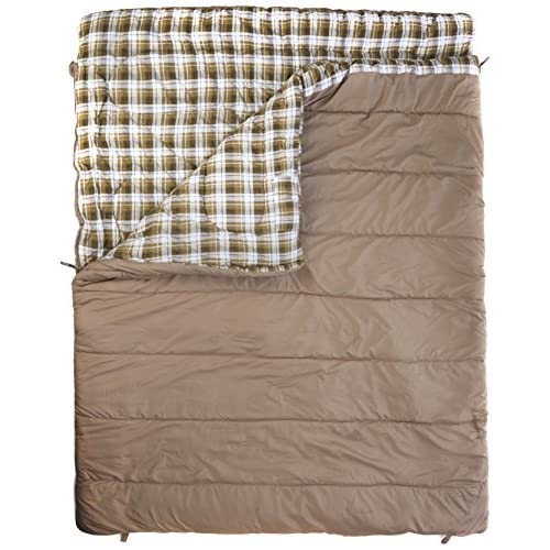 51%2B5oQYHwKL. SS500  - Vango Accord Square Sleeping Bag, Nutmeg, Double