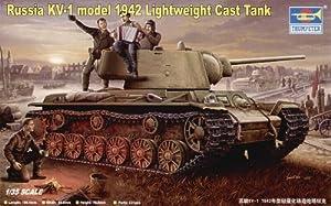 Trumpeter 360  - Ruso KV-1 Modelo 1942 Tanque de yeso liviano