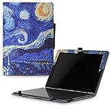 MoKo Lenovo YOGA Book Case - Custodia Protettiva Pieghevole Stand per Lenovo YOGA Book YB1-X90F, YB1-X91F 10.1 Inch 2-in-1 Tablet / Laptop, Notte Stellata