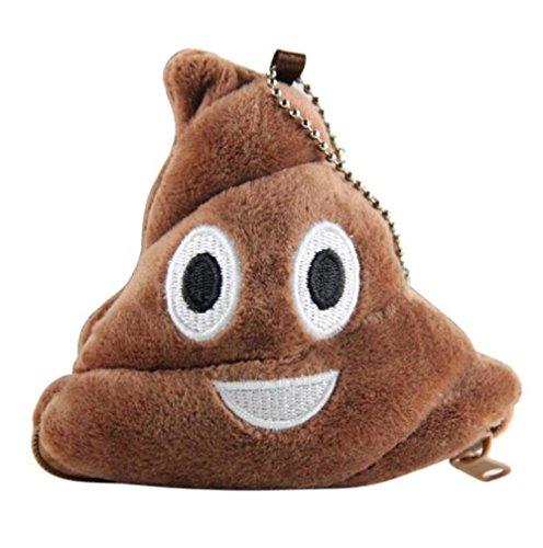 Generic Poop Kissen Plüsch Weiche Emoji Emoticon Geldbörse Geschenk