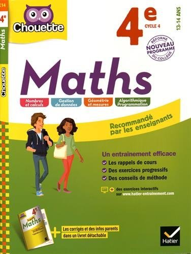 Maths 4e Cycle 4
