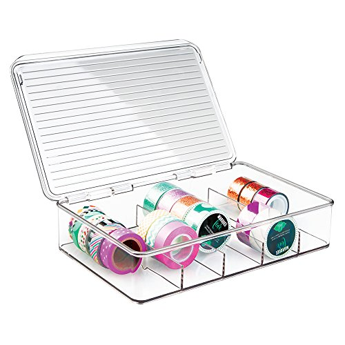 mDesign Storage Box for Craft Su...