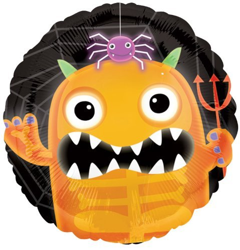 Amscan International 18ic Boo Crew Monster (Orange)