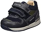 Geox B Rishon C, Zapatillas para Bebés, Azul (Navy/Military), 19 EU