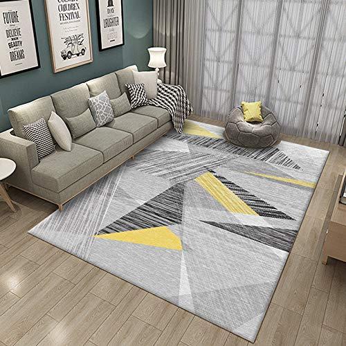 Rug Dreieck Geometrische Formen Bereich Teppich Zum Wohnzimmer Schlafzimmer Bunt Modern Dauerhaft Teppich-Sammlung GTMYUK,A,180x280cm -